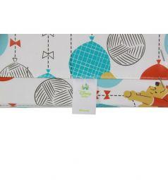 Пеленальные столик Polini Медвежонок Винни. Чудесный день, цвет: желтый