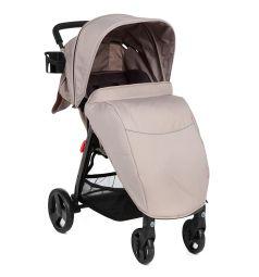 Прогулочная коляска Corol L-8, цвет: бежевый