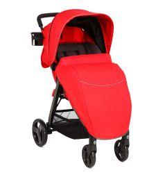 Прогулочная коляска Corol L-8, цвет: красный
