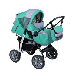Прогулочная коляска Alis Amelia I Аm 03, цвет: зеленый/серый