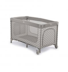 Кровать-манеж Happy Baby Martin, цвет: серый