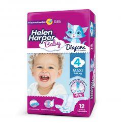 Подгузники Helen Harper Baby Maxi (7-18 кг) 12 шт.