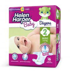 Подгузники Helen Harper Baby Mini (3-6 кг) 16 шт.
