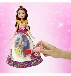 Кукла Disney Princess Модная принцесса Белль в сказочной юбке 29 см