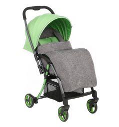Прогулочная коляска Corol S-6, цвет: серый/зеленый