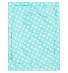 Моей крохе Одеяло 140 x 110 см, цвет: голубой