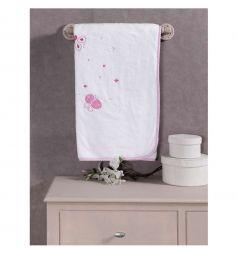 Kidboo Плед Funny Dream 80 х 120 см, цвет: белый/розовый