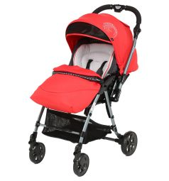 Прогулочная коляска Capella S-230, цвет: красный