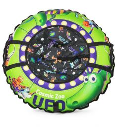 Тюбинг Small Rider UFO (CZ) Динозаврик, цвет: зеленый