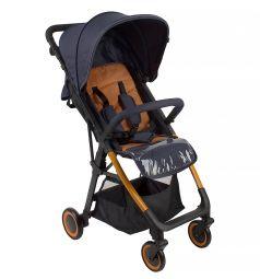 Прогулочная коляска Corol L-7, цвет: синий/оранжевый