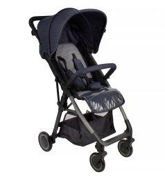 Прогулочная коляска Corol L-7, цвет: синий/серый