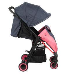 Прогулочная коляска Corol L-7, цвет: синий/розовый