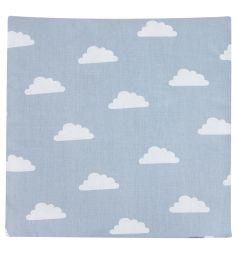 Подушка Зайка Моя Облака 40 х 40 см, цвет: серый