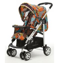 Прогулочная коляска Zooper Waltz Flowers, цвет: jungle earth