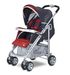 Прогулочная коляска Zooper Waltz Smart, цвет: ruby storm