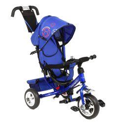 Велосипед трехколесный Capella Action trike II, цвет: синий/принт футбол