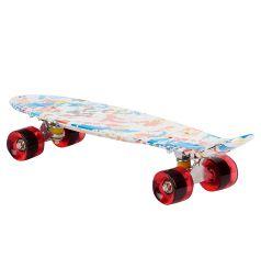 Скейтборд Leader Kids S-2206W, цвет: draft