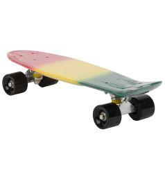 Скейтборд Leader Kids S-2206F, цвет: reggae