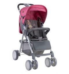 Прогулочная коляска Lorelli Aero, цвет: розовый/серый