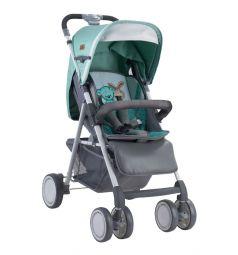 Прогулочная коляска Lorelli Aero, цвет: серый/зеленый