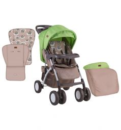 Прогулочная коляска Lorelli Rio, цвет: бежевый/зеленый