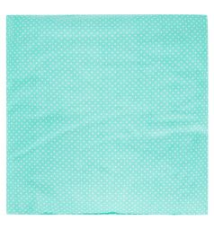 Подушка Зайка Моя Горох 40 х 40 см, цвет: бирюзовый