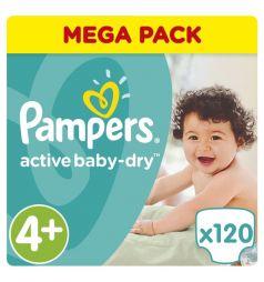 Подгузники Pampers Active Baby-Dry (9-16 кг) 120 шт.