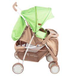 Прогулочная коляска Lorelli Terra, цвет: бежевый/зеленый
