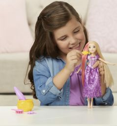 Кукла Disney Princess Магия волос Рапунцель 26 см