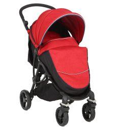 Прогулочная коляска Corol S-3, цвет: красный