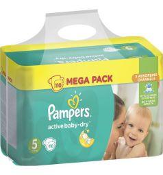 Подгузники Pampers Active Baby-Dry (11-18 кг) 110 шт.