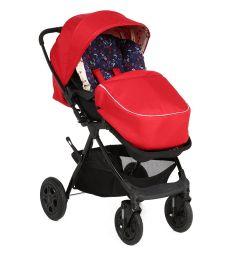 Прогулочная коляска Corol L-10, цвет: красный
