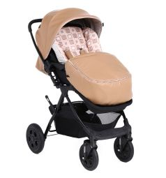 Прогулочная коляска Corol L-10, цвет: бежевый