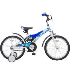 Велосипед Stels Jet 18 Z010, цвет: белый/синий