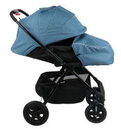 Прогулочная коляска Corol L-10, цвет: синий