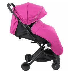 Прогулочная коляска McCan M-9, цвет: фуксия