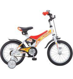 Велосипед Stels Jet 14 Z010, цвет: белый/красный