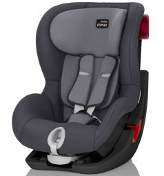Автокресло Britax Romer King II Black Series, цвет: storm grey