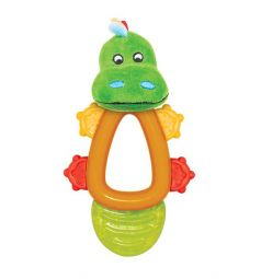 Погремушка Happy Snail Крокодил Кроко