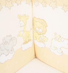Бортик Leader Kids Мини-Сафари, цвет: молочный