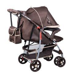 Прогулочная коляска Lionelo Emma plus, цвет: brown