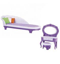 Мебель для куклы Огонек Будуар Конфетти