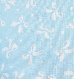 Подушка Smart-textile 20 х 15 х 35 см, цвет: голубой