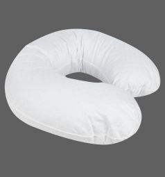 Smart-textile Подушка Бумеранг длина по краю 220 см, цвет: белый