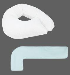Smart-textile Комплект Гармония-лайт подушка/наволочка 2 предмета длина по краю 250 см, цвет: голубой
