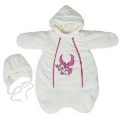 Комплект на выписку Babyglory Вдохновение уголок, цвет: розовый