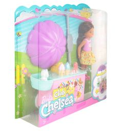 Кукла Barbie Челси и набор мебели 30 см
