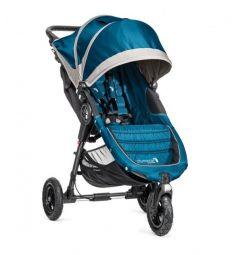 Прогулочная коляска Baby Jogger City Mini GT с бампером Belly bar mounting brackets, цвет: teal