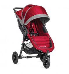Прогулочная коляска Baby Jogger City Mini GT с бампером Belly bar mounting brackets, цвет: crimson