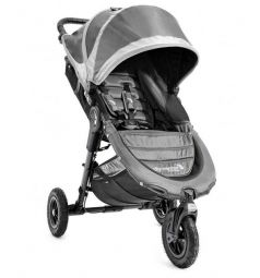 Прогулочная коляска Baby Jogger City Mini GT с бампером Belly bar mounting brackets, цвет: gray